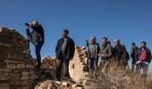 Afrin'deki PKK/PYD Mevzileri Vuruldu, Vatandaş Dürbünle İzledi