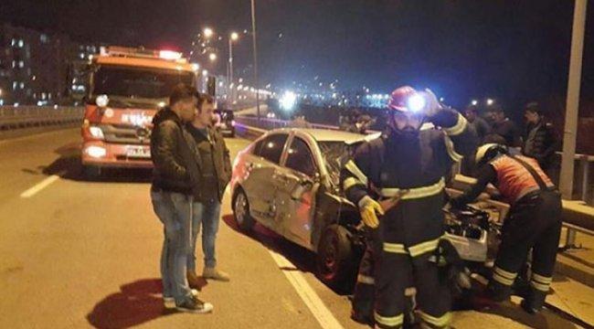 Karadeniz Sahil Yolu'nda kaza: 6 yaralı