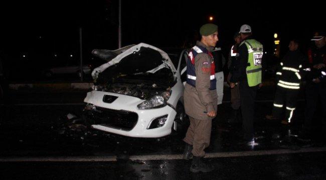Kazadan Sonra Sürücü Buhar Oldu