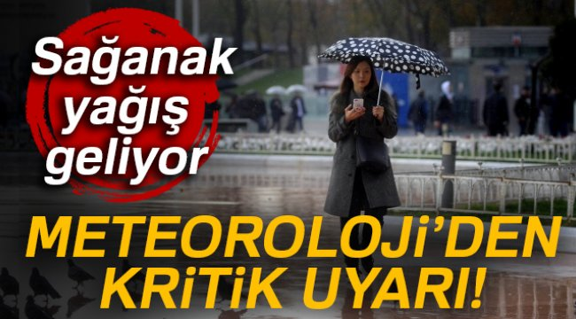 Meteoroloji'den kritik uyarı! | 29 Mart Perşembe yurtta hava durumu