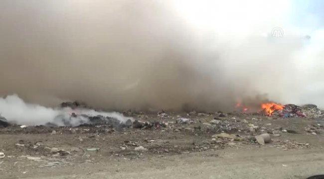 Bodrum Çöplüğünde Yangın (2)