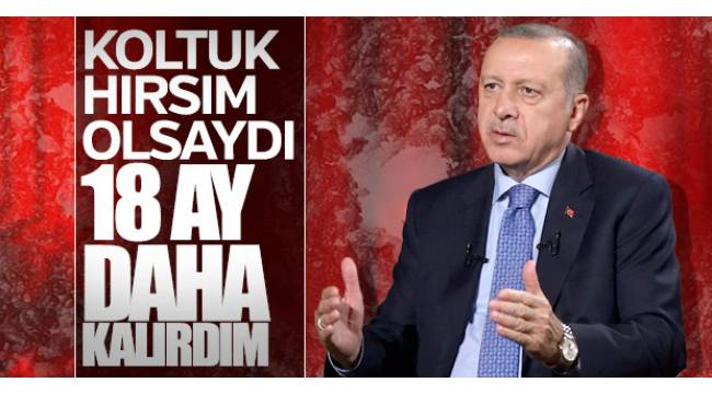 Cumhurbaşkanı Recep Tayyip Erdoğan, canlı yayında gündemi değerlendird