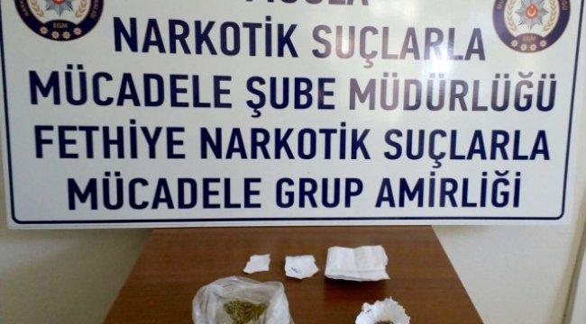 Fethiye'de Uyuşturucu Operasyonu; 1 Tutuklama