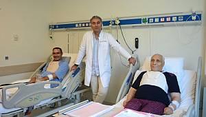 Baba ve Oğlu Aynı Gün Hastaneye Yattı, Ameliyat Oldu ve Aynı Gün Taburcu Edildi