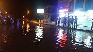 Denizli'de Sağanak Yağış