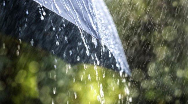 Meteorolojiden Sağnak Yağış Uyarısı