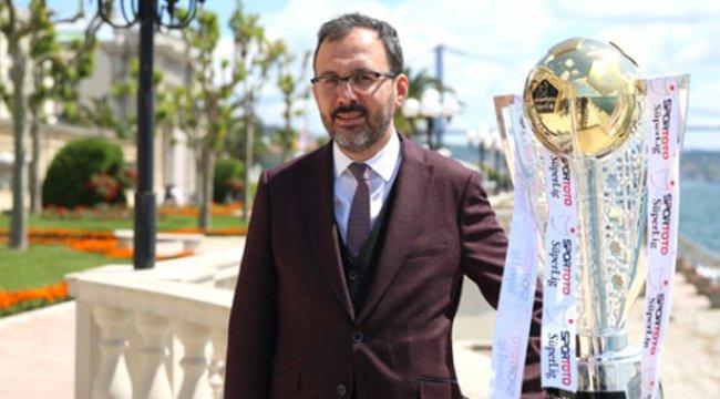 Gençlik ve Spor Bakanı Kasapoğlu: Bu, UEFA Açısından Üzücü Bir Durum