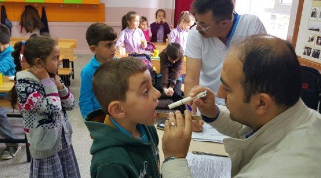 Hisarcık'ta Ağız ve Diş Sağlığı Taraması