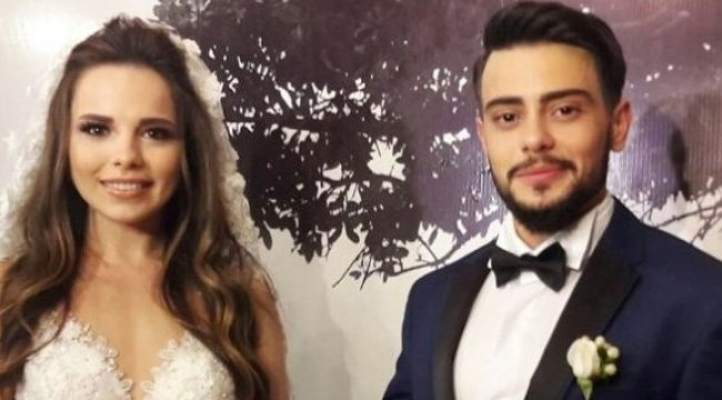 Tuğba - Rüzgar Erkoçlar evlilik yıldönümlerini kutladı