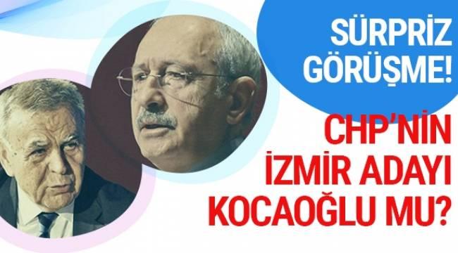 Aziz Kocaoğlu, Ankara'da CHP Genel Başkanı Kemal Kılıçdaroğlu ile sürpriz bir görüşme gerçekleştirdi.