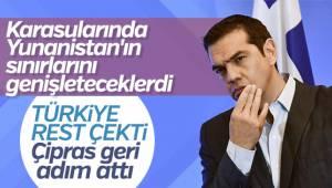 Çipras'tan Yunan karasularına ilişkin kararnameye müdahale
