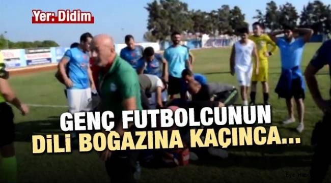 Hakem, Didimsporlu futbolcunun yaşamını kurtardı!!