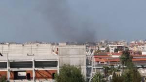 İzmir Alsancak'ta Bulunan Restoranda Yangın Çıktı!