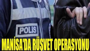 Manisa'da aralarında tapu müdür yardımcısının da bulunduğu 5 kişi gözaltına alındı.