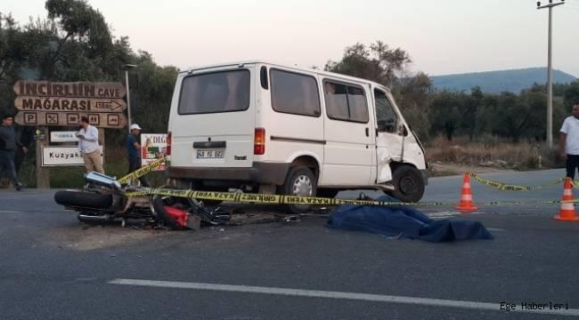 Milas'ta feci kaza: 2 ölü