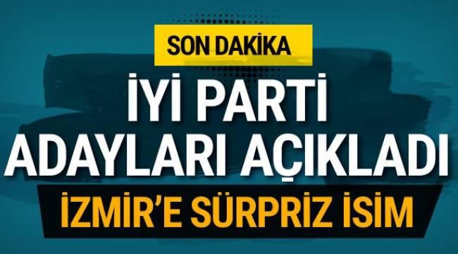 İyi Partiden İzmir'e Sürpriz Aday !!