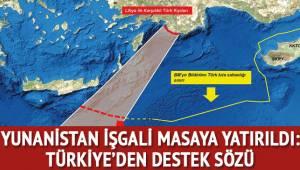 Yunanistan'ın Doğu Akdeniz'deki işgali masaya yatırıldı