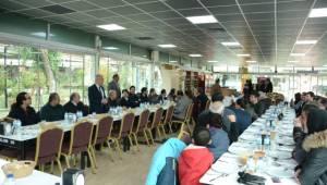 Dinar Belediye Başkanı Saffet Acar, Mühendislerle Yemekte Buluştu