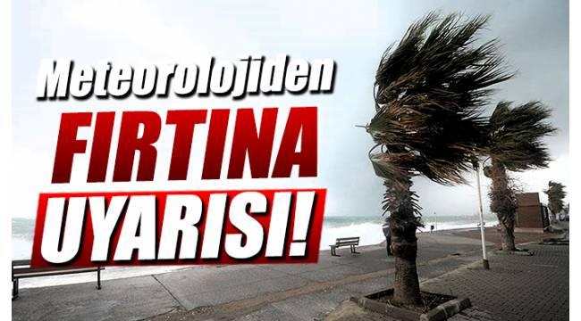 Meteorolojiden Uyarı: Ege'de de fırtına bekleniyor!