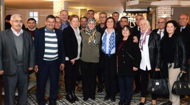 Didimli Muhtarlardan Başkan Çerçioğlu'na Ziyaret