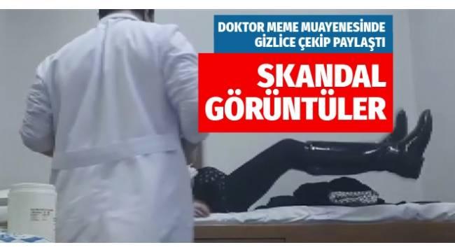 İZMİR Dokuz Eylül Üniversitesi Hastanesi'nde bir doktorun meme muayenesi sırasında gizlice çekilen çok sayıda görüntü internete düştü.
