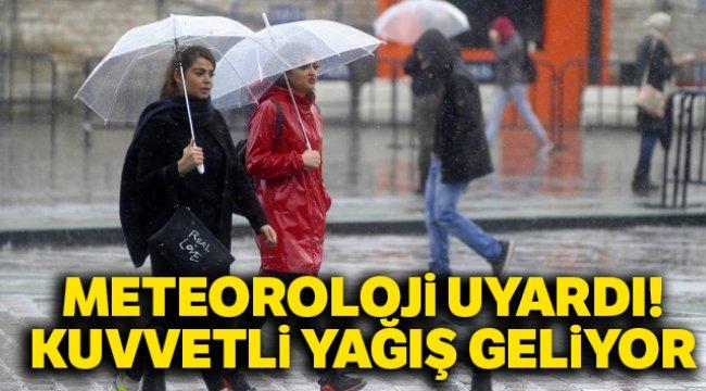 Meteoroloji uyardı! Kuvvetli yağış geliyor |12 Ocak yurtta hava durumu