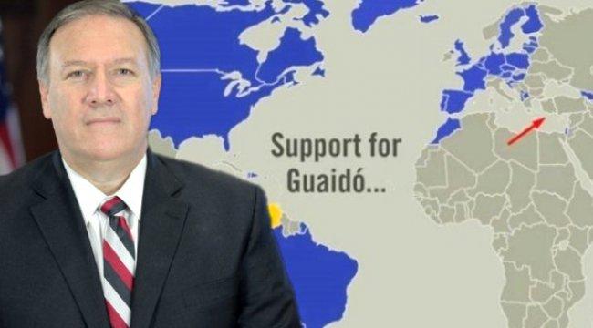 ABD Dışişleri Bakanı Pompeo'nun Paylaştığı Skandal Haritaya Türkiye'den İlk Tepki: Vahim Bir Hata