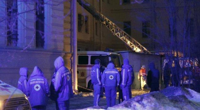 Rusya'da Üniversite Binası Çöktü! 21 Kişi Enkaz Altına Kaldı