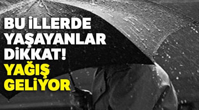 Bu illerde yaşayanlar dikkat! Yağış geliyor, 4 Mart yurtta hava durumu