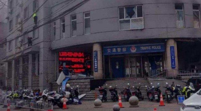 Çin'de polis merkezine bombalı saldırı: 3 yaralı