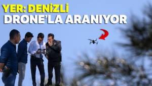 Denizli'nin Pamukkale ilçesinde bacanağını öldüren zanlıyı polis ormanda drone ile aradı
