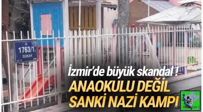 İzmir Karşıyaka'da anaokulunda görevli öğretmenin, yaramazlık yapan öğrencileri karanlık odaya kapattığı ortaya çıktı.