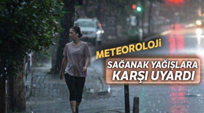 Meteoroloji sağanak yağışlara karşı uyardı, 27 Mart 2019 yurtta hava durumu