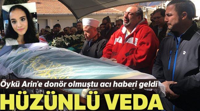 İzmir'li donör Nazlı Çiçek'e hüzünlü veda