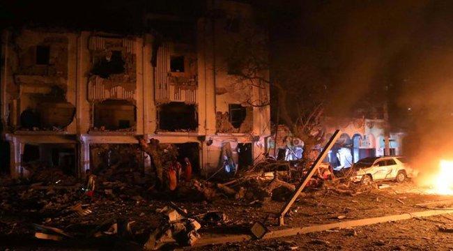 Son dakika: Somali'de bombalı araçla saldırı
