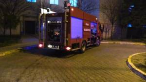 Uşak Üniversitesi Eğitim ve Araştırma Hastanesi'nde Yangın