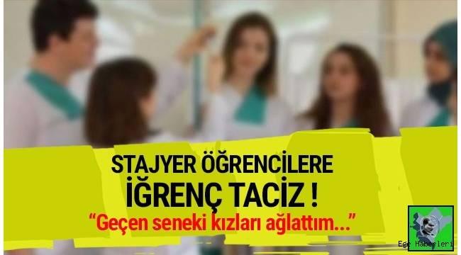 İzmir'de meslek lisesi öğrencisi 5 kıza staj yaptıkları bakım evinde sarkıntılıkta bulunan kişi hakim karşısına çıktı.