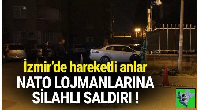 İzmir'de NATO lojmanlarına 2 kar maskeli kişi saldırıda bulundu.