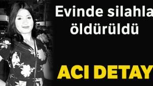 İzmir'in Buca ilçesinde bir genç kız, evinde silahla vurulmuş şekilde ölü bulundu