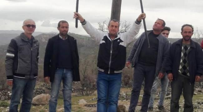 Manisa'nın Selendi ilçesinde, Telefon Kablosu Hırsızları 5 Mahallenin İletişimini Kesti