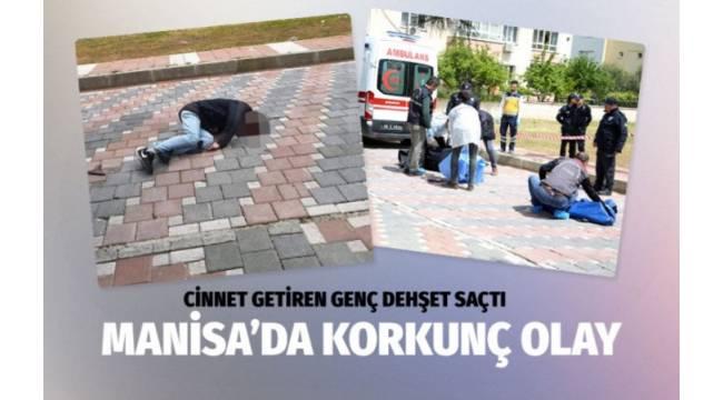 Manisa'nın Yunusemre ilçesinde bir kişi, kız arkadaşı ve annesini öldürerek intihar etti.