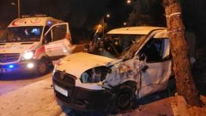 Muğla'nın Menteşe İlçesinde Kaza