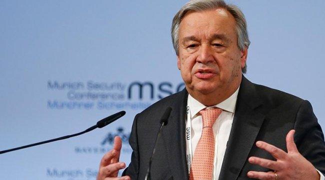 Son dakika... BM Genel Sekreteri Antonio Guterres Kıbrıs raporunu sundu