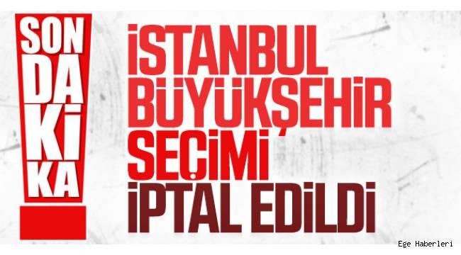 AK Parti'nin YSK temcislci Recep Özel İstanbul'da seçimlerin yenileneceğini duyurdu.