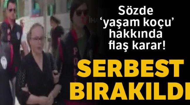 Çocuk istismarıyla ilgili skandal paylaşıma imza atan kadın serbest bırakıldı