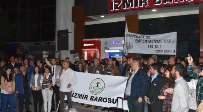 İzmir Barosundan Ysk'ya Tepki