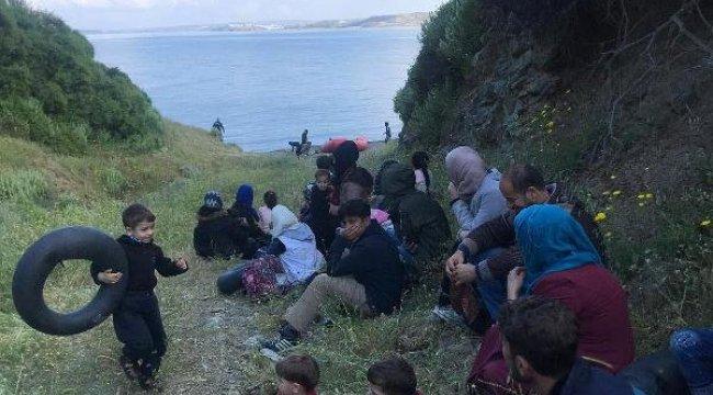 İzmir'de 45 Kaçak Göçmen ve 6 Organizatör Yakalandı