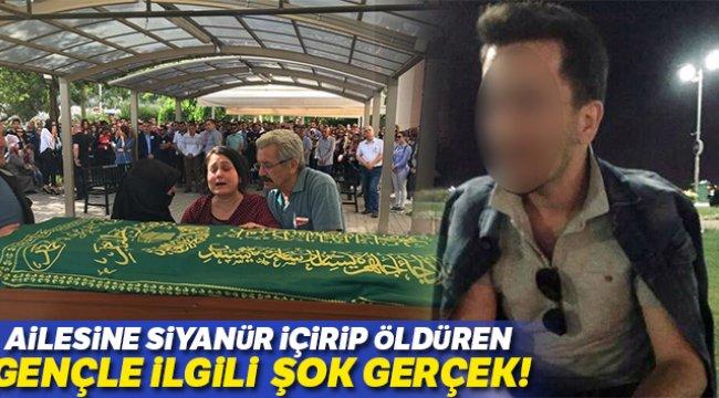 İzmir'de, Ailesine siyanür içirip öldüren gençle ilgili şok gerçek: Şizofren çıktı