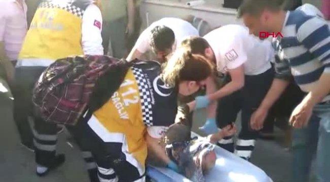 Manisa'da Yemek Yapan Yaşlı Kadın, Mutfakta Çıkan Yangında Yaralandı