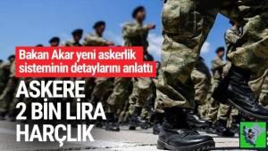 Milli Savunma Bakanı Hulusi Akar, yeni askerlik sistemine ilişkin detayları açıkladı.